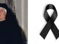 Commozione a Petina per la morte di Suor Palmina Polo. Il cordoglio del sindaco D'Amato