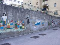 Murales da tramandare alle nuove generazioni. L'originale idea di un pensionato di San Pietro al Tanagro