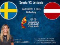 Maria Marotta, arbitro di Sapri, designata per Svezia Lettonia, gara di qualificazione agli Europei Femminili