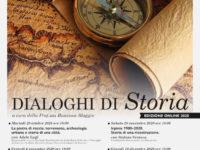 """Al via la III edizione dei """"Dialoghi di Storia"""" della Fondazione MIdA. Questa sera il primo appuntamento online"""