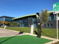 Banca Monte Pruno. La sede di Sant'Arsenio ancora più green,installata colonnina per ricarica veicoli elettrici