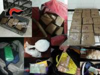 Salerno: traffico di droga dai Balcani fino ai cartelli sudamericani. 25 arresti in 8 province