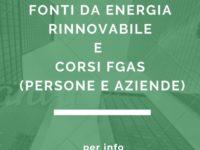 Confesercenti Vallo di Diano organizza corsi per fonti da energia rinnovabile ed F-gas