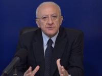 """Emergenza Covid-19 in Campania. De Luca:""""Dev'essere bloccata la movida, ci sarà il coprifuoco"""""""