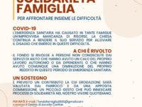 """Covid-19. La Diocesi di Teggiano-Policastro istituisce il """"Fondo Solidarietà Famiglia"""""""