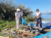Giornata ecologica a Sapri. Volontari delle associazioni ripuliscono località Pali da cumuli di rifiuti