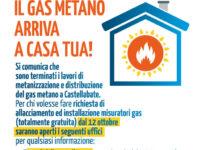 Il gas metano arriva a Castellabate. Terminati i lavori, al via le richieste di allacciamento