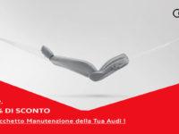 """Atena Lucana: alla Concessionaria Autohaus sconto speciale con il pacchetto manutenzione """"Audi Additional Care"""""""