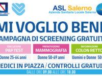 """Campagna """"Mi voglio bene"""". Domani a Polla screening oncologico gratuito dell'Asl Salerno"""