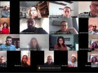 Momenti di condivisione e partecipazione all'Assemblea online dell'Associazione Monte Pruno Giovani