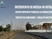 Ad Agropoli al via interventi di messa opera e ammodernamento della pubblica illuminazione