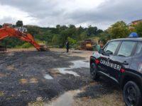 Smaltimento illecito di rifiuti a Palomonte. Sequestrata l'area e denunciati i responsabili