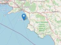 Terremoto nelle acque del Golfo di Salerno. Scossa di magnitudo 3.1 avvertita in città