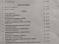 Il menù dei cibi da asporto al ristorante LA MARCHESINA di Teggiano