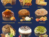 NATALE 2020 – Alla Pasticceria D'Elia di Teggiano tanti gusti di panettoni. Scegli il tuo preferito!
