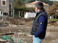 """Maltempo nel Golfo di Policastro.Sopralluogo del consigliere regionale Corrado Matera:""""Vicinanza e solidarietà"""""""