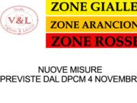 Nuove misure previste dal DPCM 4 novembre – a cura dello Studio Viglione Libretti