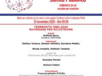 """Domani il seminario online """"Terremoto 1980 – 2020. Ricordare per costruire"""" a cura della Fondazione MIdA"""