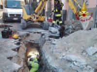 Fuga di gas nel centro storico di Potenza. Intervengono i Vigili del Fuoco