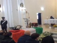 A Chiaromonte l'ultimo saluto a Luca Ferraiuolo, Appuntato Scelto della Stazione Carabinieri di Buonabitacolo