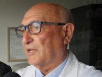 Il sindaco di Sassano Domenico Rubino ricoverato nel reparto Covid dell'ospedale di Polla