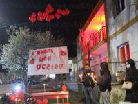 """Vietri di Potenza dice """"No"""" alla violenza sulle donne. Volontari protagonisti con installazioni e flash mob"""