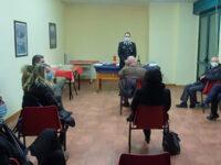 Carabinieri Sala Consilina. Il Capitano Cristinziano accoglie i giornalisti per uno scambio di auguri