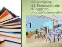 """Al """"Pomponio Leto"""" di Teggiano parte l'Open week. Visite a scuola su prenotazione per genitori e studenti"""