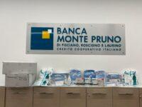 La Monte Pruno Giovani consegna attrezzature anti-Covid agli operatori sanitari degli Alburni