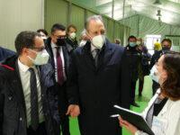 """Bardi visita l'Ospedale da campo di Potenza. """"E' pronto per rendere possibili i ricoveri"""""""