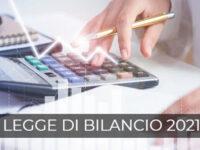 Legge di Bilancio 2021: sintesi novità fiscali – a cura dello Studio Viglione Libretti