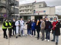 L'Associazione SApieNZA Onlus di Sanza consegna il monitor multiparametrico all'ospedale di Polla