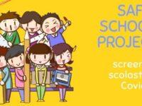 """""""Safe School Project"""". A Sassano al via da domani lo screening anti-Covid nelle scuole"""