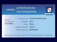 """Tessera del vaccino anti-Covid in Campania. La Lega:""""Una follia incostituzionale"""""""