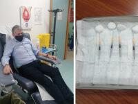 Al via all'ospedale di Sapri la vaccinazione anti-Covid. Prima dose per il Direttore Sanitario