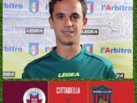 Arbitri. Ivan Robilotta della sezione AIA di Sala Consilina in Serie B per Cittadella-Cosenza