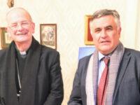 """L'associazione """"San Sebastiano Martire"""" di Salvitelle conferisce la Presidenza onoraria a S.E. Mons. Angelo Spinillo"""