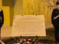 A Bella il ricordo dell'Appuntato dei Carabinieri Fezzuoglio, ucciso durante una rapina in Umbria