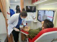 Donazione di sangue a Persano. L'impegno di militari per fronteggiare l'emergenza sanitaria in favore dell'AVIS di Agropoli