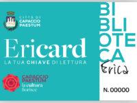 A Capaccio Paestum nasce Ericard, una tessera della Biblioteca per ogni bambino che nasce
