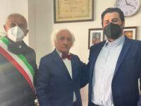 La comunità di Auletta in festa per i 105 anni di Fortunato Pugliese, pittore di fama internazionale