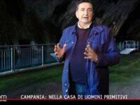 """Roberto Giacobbo estasiato dalle Grotte di Pertosa-Auletta nel programma """"Freedom"""" su Italia 1"""