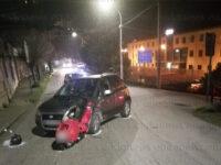 """Incidente in Via Pozzillo a Sala Consilina. Giovane ferito trasportato al """"Curto"""""""