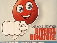 Ad Atena Lucana il 21 febbraio giornata dedicata alla donazione del sangue con i volontari Avis