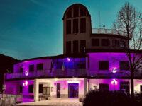 Il Municipio di Pertosa si colora di rosa o azzurro per celebrare la nascita dei suoi piccoli cittadini