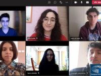 """Teggiano: una delegazione del """"Pomponio Leto"""" supera la preselezione del Parlamento Europeo Giovani"""