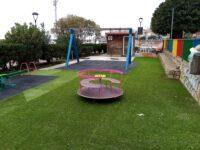 Messo a nuovo il parco giochi di Marina di Camerota grazie all'indennità del sindaco