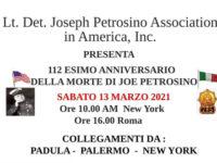 112° anniversario della morte di Joe Petrosino. Domani commemorazione in diretta streaming