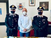 Il Capitano della Compagnia Carabinieri di Sala Consilina Paolo Cristinziano visita il Comune di Pertosa