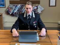 Il Capitano dei Carabinieri di Viggiano incontra online gli studenti per diffondere la cultura della legalità